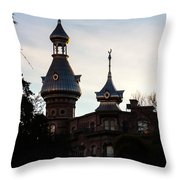 Minaret And Turret Throw Pillow