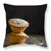 Mince Pie Stack Throw Pillow