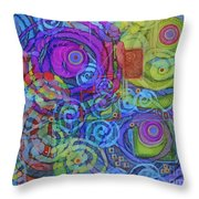 Out Of My Mind Throw Pillow
