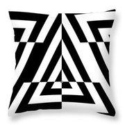 Mind Games 21 Panoramic Throw Pillow
