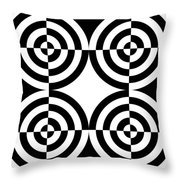 Mind Games 4 Throw Pillow