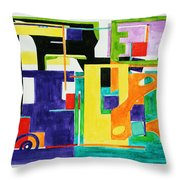 Mindscape II Throw Pillow by Xueling Zou