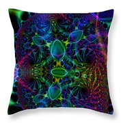 Mindscape Weave  Throw Pillow