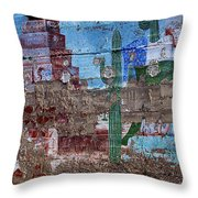 Miner Wall Art 3 Throw Pillow