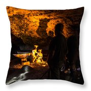 Miners Throw Pillow
