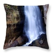 Miners Falls II Throw Pillow