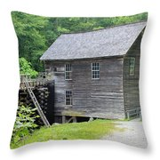 Mingus Mill In Tennessee Throw Pillow