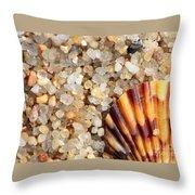 Mini Beach Vacation Throw Pillow