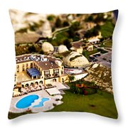 Mini Getaway Throw Pillow