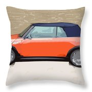 Mini Makeover Throw Pillow
