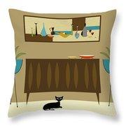 Mini Still Life Throw Pillow