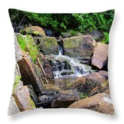 Mini Water Fall Throw Pillow