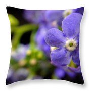 Miniature Muse Throw Pillow