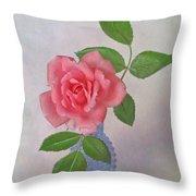 Miniature Rose IIi Throw Pillow