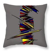 Minimalist 2 Grey Throw Pillow