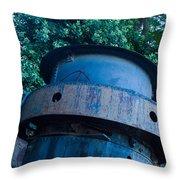 Mining Boiler Throw Pillow