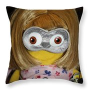 Minion In Disguise Throw Pillow