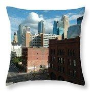 Minneapolis 1 Throw Pillow