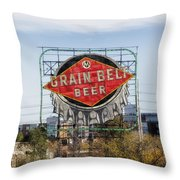 Minneapolis Brew Throw Pillow