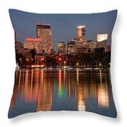 Minneapolis Throw Pillow