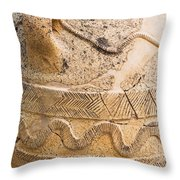Minoan Jar Throw Pillow