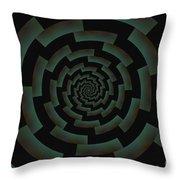 Minotaur's Labyrinth Throw Pillow