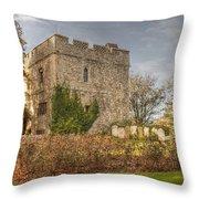 Minster Abbey Gatehouse Throw Pillow
