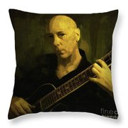 Minstrel Renaissance Modern Throw Pillow