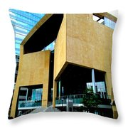 Mint Museum Uptown Throw Pillow by Randall Weidner