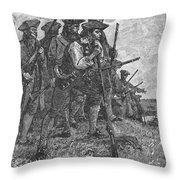 Minutemen, C1776 Throw Pillow