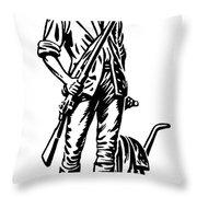 Minutemen Throw Pillow