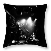 Mira Stroika And The Red Scare At Carnival Des Corbeaux Throw Pillow