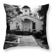Miracle Hill Church Throw Pillow