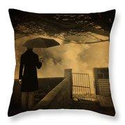 Miracle Throw Pillow by Taylan Apukovska