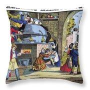 Miraculous Still, 1839 Throw Pillow