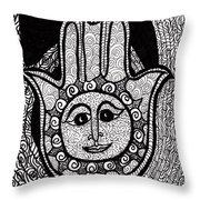 Miriam's Peace Throw Pillow