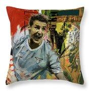 Miroslav Klose Throw Pillow