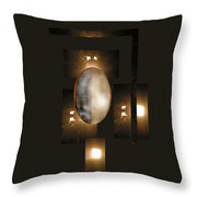 Mirror Of Life - Nothing Ever Happened Throw Pillow