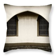 Mirrored Arch Throw Pillow