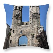 Mirrored Portal - Macon  Throw Pillow