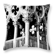 Mirrored Shadows Throw Pillow