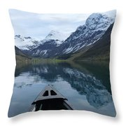 Mirrored Voyage Throw Pillow
