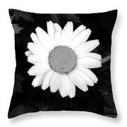 Miss Daisy Throw Pillow