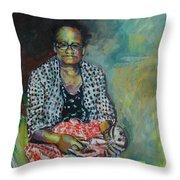 Miss Hattie - Skinning Throw Pillow