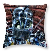 Miss Mitchell Throw Pillow by Amanda Stadther