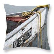 Miss Nicki Throw Pillow
