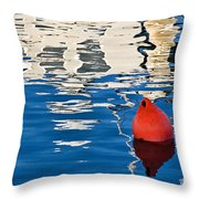 Miss Pattie Reflections Throw Pillow