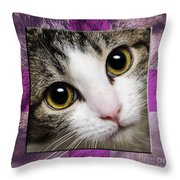 Miss Tilly The Gift 2 Throw Pillow
