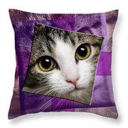 Miss Tilly The Gift 4 Throw Pillow