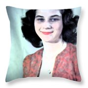 Missblueeyes Throw Pillow